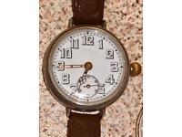 Vintage Borgel Swiss Silver Watch
