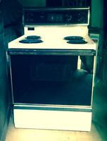 Free White Kenmore Electric Self Cleaning Stove