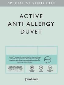 John Lewis Emperor Size 13.5TOG Anti Allergy Duvet Ex Display