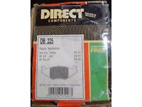 Brake pads - DB 225 For VW/SEAT models years 83-93 and on