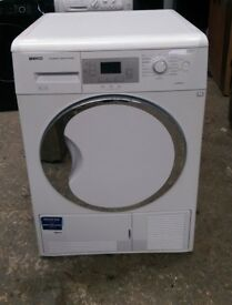 FREE DELIVERY Large 9KG Beko sensor condenser tumble dryer WARRANTY