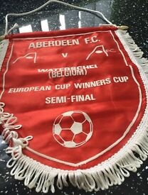 Aberdeen FC memoribilia