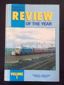 Today's Railway Review of the Year book (Vol 1, 1987) for sale