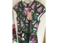 Ted Baker brand new floral dress, with tag