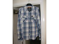 Authentic Superdry Long Sleeve Denim Shirt