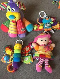 4 Lamaze baby toys