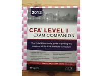 CFA level I Exam Companion. The Fitch Learning / Wiley Study Guide