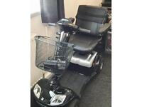 Kymco super 4 black and silver notability scooter