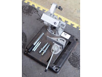 "Angle grinder stand for 9"" or 7"" grinders"