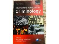 Criminology handbook