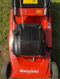 Mountfield Emperor Self Propelled roller mower top of the range machine serviced Briggs engine mower