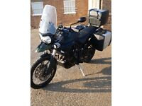 Triumph Tiger 800XC ABS, FSH, 11k miles, fully loaded with extras