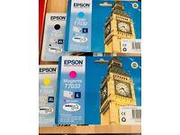 Epson Ink Cartridges (Colour & Black) T7