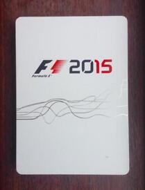 F1 2015 PS4 Steelbook