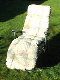 Reclining Garden chairs (Pair)