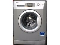 Beko WMB71442S 7Kg Washing Machine with 1400 rpm - Silver, can deliver and install