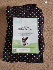 Brand new mei tai baby carrier