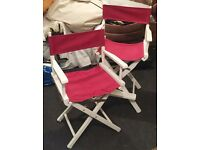 1 folding director's chair