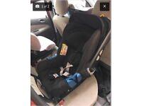 Britax Romer Baby-Safe Plus SHR II With Isofix Base Cosmos Black