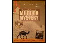 Murder Mystery Party 'Murder At The Pyramids' 2007 CD & DVD Game (new)