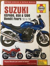 Haynes Suzuki Service & Repair Manual