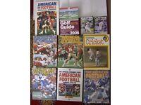 American Football Cricket Books Annuals