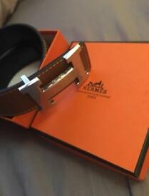 Men's hermes belt
