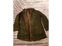 Wax Barbour Jacket Size 16