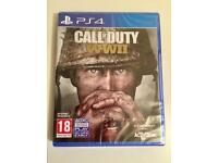 CALL OF DUTY WWII (ps4) sealed
