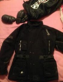 Akito motorbike bike motorcycle jacket - XL - waterproof, thermal lined, great condition