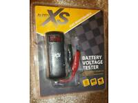 Auto xs battery voltage tester