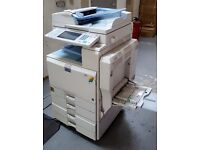 Printer, Scanner, Copier and Fax Machine: Good Working Condition Aficio MP C4000 All-in-One