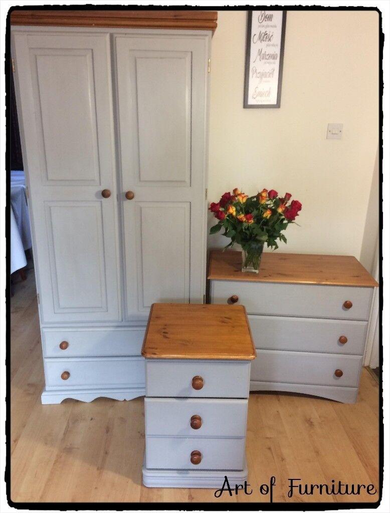 painted pine bedroom furniture – Sistem As Corpecol