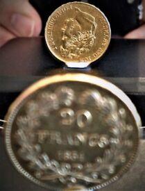 UNIQUE 1834 LOUIS-PHILIPPE I - INVERTED EFFIGY & EDGE INSCRIPTION - 21.6 CARATS GOLD 20 FRANCS