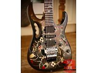 Brand New IBANEZ JEM 77FP2 Floral Pattern + Hard Case + Tags + Tremolo arm FOR SALE!