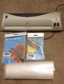 A3 Laminator - WHSmith Complete with pouches