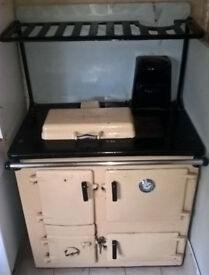Rayburn Solid Fuel Oven.