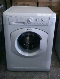 FREE DELIVERY, WARRANTY Hotpoint 6KG, 1200spin washing machine