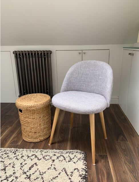 uk availability 8a8d4 81f31 Dining Chair Light Grey and Wood - Maison du Monde | in Hackney, London |  Gumtree