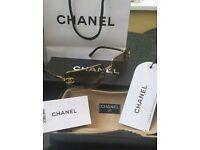 Genuine ladies Chanel sunglasses exc condition