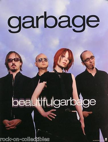 Garbage 2001 Beautiful Garbage Original US Double Sided Promo Poster