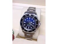 116660-BLUO | 116660 Blue THE OYSTER PERPETUAL ROLEX DEEPSEA D-BLUE DIAL MEN'S LUXURY WATCH