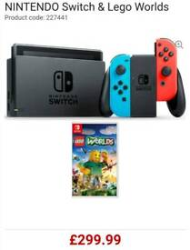 Brand New Nintendo Switch And Game