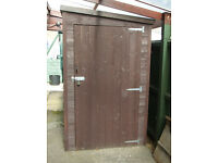 Nearly New Wooden Shed approx 6ft x 4ft 2doors Excellent Condition. £100 or try offer