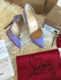 LOUBOUTINS sz6 NEW in box with receipt & certificate of authentication - were £495 in shop now