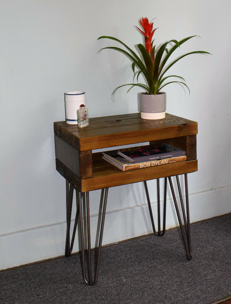Hairpin Leg Bedside Tables Free Delivery