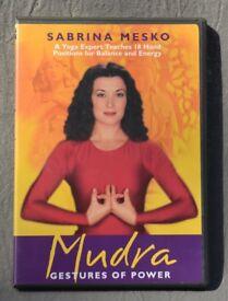 Mudra: Gestures of Power by Sabrina Mesko (DVD video, 2005)