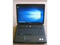 DELL VOSTRO 1500, 2GB RAM AND 160GB HARDDRIVE