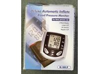 Deluxe Automated Inflate Blood Pressure Monitor