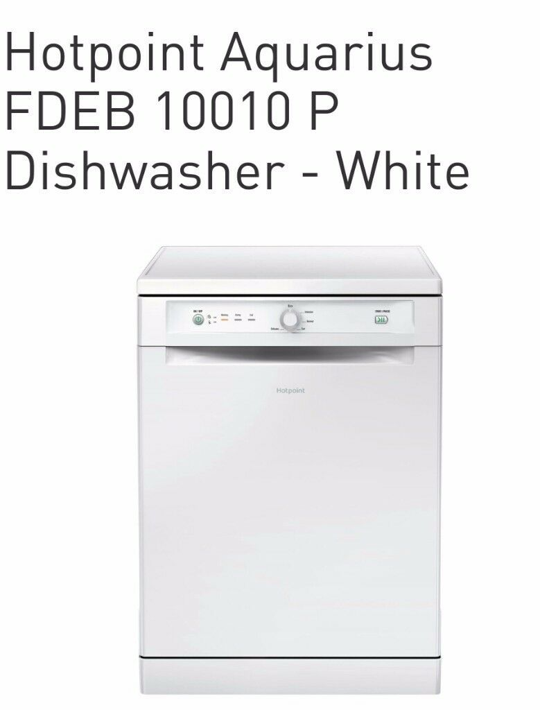 Hotpoint FDEB 10010 P Freestanding Full Size Dishwasher